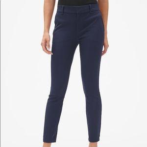NWT GAP Slim Cropped 00R Navy Pants